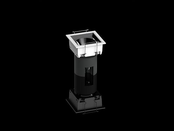 无边框防眩射灯